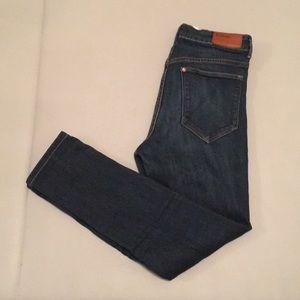 {H&M} skinny high waist jeans 26